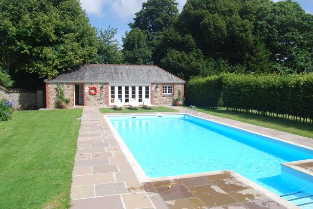 Trewinnard Holiday Cottages | New Swimming Pool